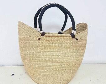 Handwoven Farmers Market Shopping Bolgatanta Baskets from Ghana