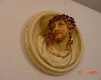 Vintage Jesus Wall Hanging   17 - 841