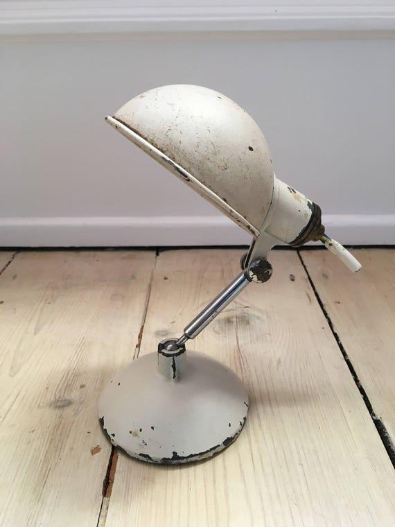 Vintage Art Deco Metek English engineers workers lamp circa 1930's