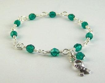 Polycystic Kidney Disease Awareness Bracelet
