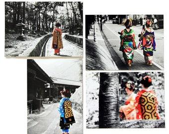 Kimono My House - Four Postcard Set