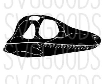 Dinosaur skull dxf, fossil dxf, dinosaur dxf, skull dxf, dino dxf, tyrannosaurus dxf, trex dxf, t-rex dxf, vector file, cut file, cricut dxf