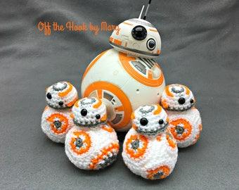 Crochet BB-8 Amigurumi