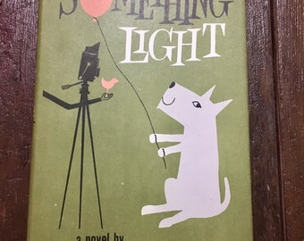 Midcentury novel Something Light mcm book with illustrations female author