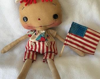 Patriotic Uncle Sam