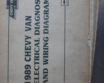 1989 chevrolet electrical diagnosis and diagrams-Chevy vans