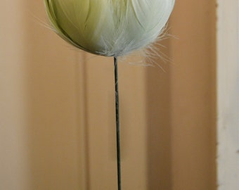 21 Inch Goose Satineete Feather Peony Flower Floral Supply