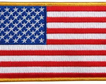 Big American Flag Back Patch