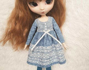ElDollRado - mori winter dress for Pullip