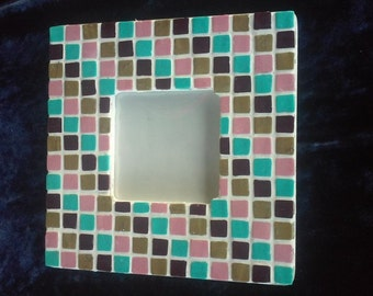 Southwestern Mosaic Picture Frame
