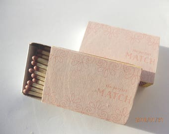 Matchbox Wedding Favours