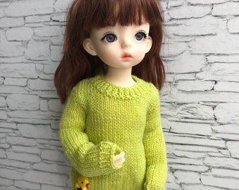 BJD clothes pullover for YOSD, 1/6 doll, Littlefee, 25-30 cm