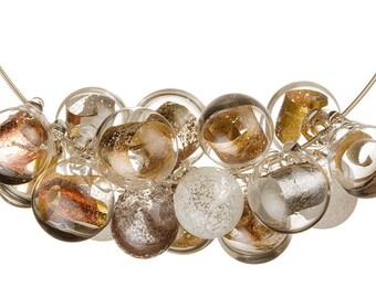 Metal Foil Necklace
