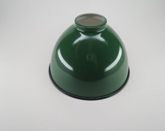 """New Metal Dome Shade Lamp 7 1/16"""" Industrial Style Porcelain Green LS350G N1"""