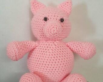 Portly Pig Amigurumi Pattern