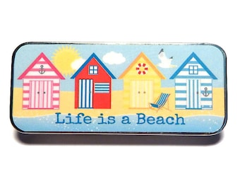 Magnetic Needle Case Needle Slider Case Life is a Beach