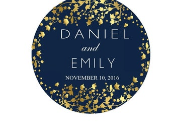 Personalized Stickers Thank You Sticker Round Labels Thank You Labels Wedding Favor Labels Wedding Stickers for Favors Custom Round Stickers