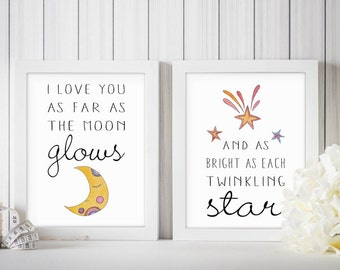 Gender Neutral Nursery Decor | Twinkle Twinkle Little Star Decor | Twinkle Twinkle Little Star Print | Star Baby Shower | Twinkle Shower