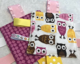 Owl baby Crinkle Toy