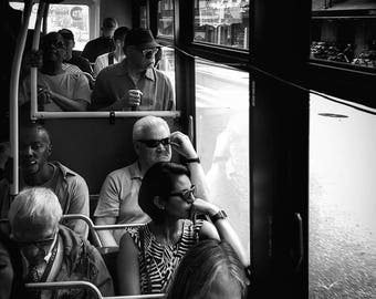 Rush Hour on the Crosstown Bus