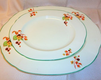Set of Beautiful Alfred Meakin Platters