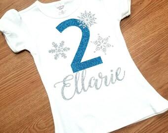 Frozen Birthday T-shirt