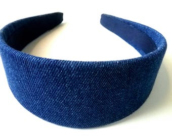 Denim Headband 2 Inch