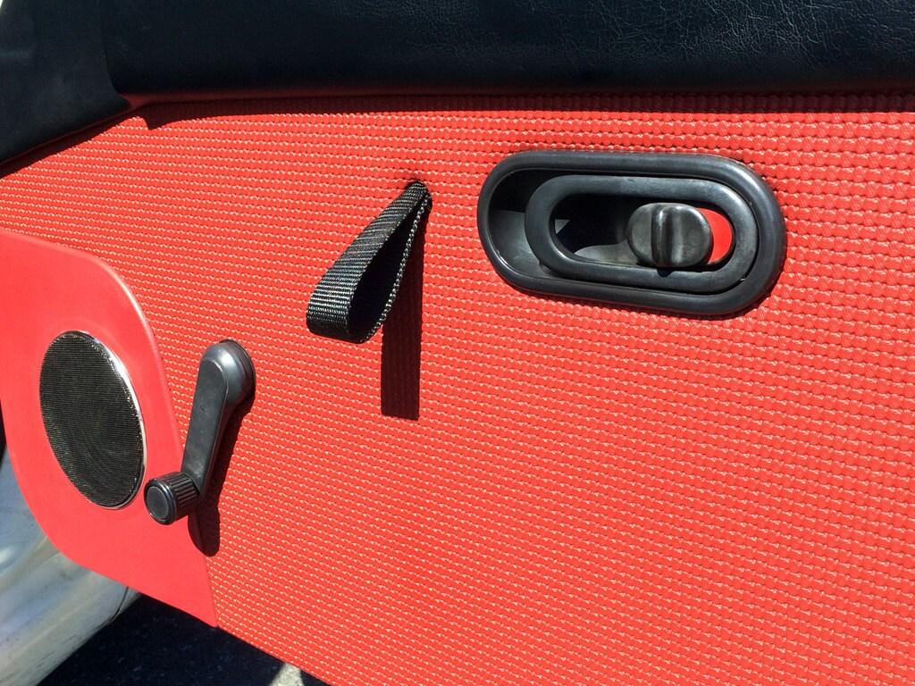 ?zoom & Porsche RS style door pull straps pair for Miata Honda
