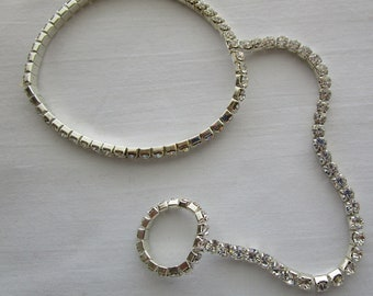 Young Ladies, Crystal Ankle Jewelry .