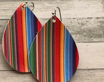 Fiesta Serape Earrings