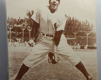 """Baseball Sepia Prints 14""""x11"""" Rizzuto Robinson Mantle Boudreau Jackson Howser Canseco Minoso- Many Other Classic Baseball Player Photos!"""