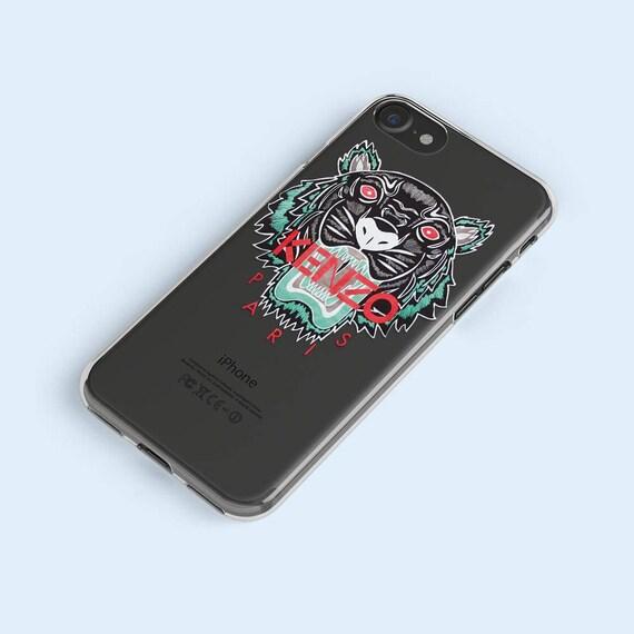 coque iphone 7 kenzo transparente