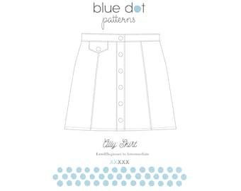 Ally Skirt PDF Pattern