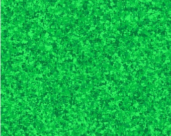 Kelly Green Solid Textured Fabric - Quilting Treasures QT Basics Color Blend - 23528 HG - Priced by the 1/2 yard