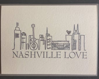 Nashville Love (Greeting Card)