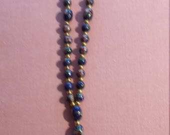 Cloisonne Anglican Protestant rosary