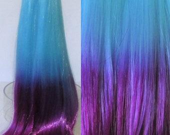 JELLY BEAN  Ombre Nylon Doll Hair for Custom OOAK/Rerooting