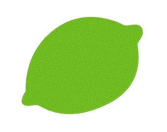 6 SIZES!! Lime Lemon Citrus Fruit Embroidery Machine Design