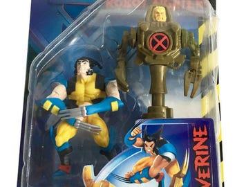 X-Men Robot Fighters Wolverine Action Figure 1997 Toy Biz