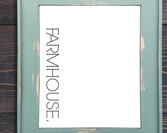 SALE!! Minimalist FarmHouse Printable