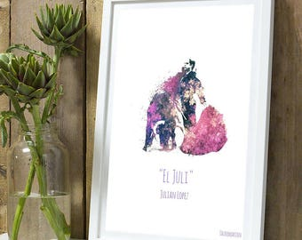 """El Juli"" color A4 unframed print"