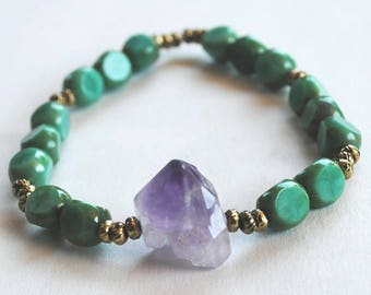 Amethyst and Turquoise