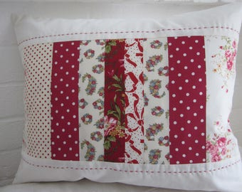 Handmade  Patchwork Cushion Cover