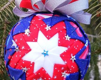 Happy 4th Ornament