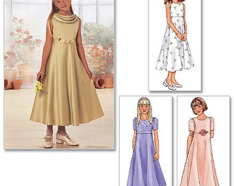 Butterick Pattern 3714 Girls' Dress