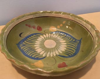 Vintage Decorative Bowl made in Mexico