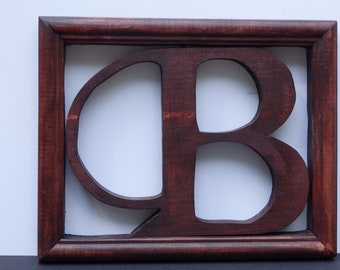 Wood Crafts,Wooden Letter Door hangers, Handmade, Home Decor