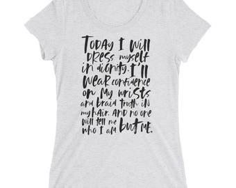 Women's Body Positive Shirt - Body Positive Tshirt - Girl Power Shirt - Girl Power Tshirt - Feminism Shirt - Feminism Tshirt - Feminist