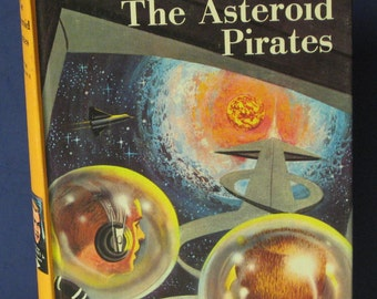 Tom Swift Jr. and the Asteroid Pirates - #21 - 1963 Vintage Hard Cover Book Grosset Dunlap