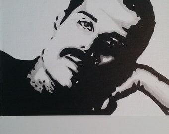"""Freddie Mercury """"Queen of Queens"""" Pop Art"""